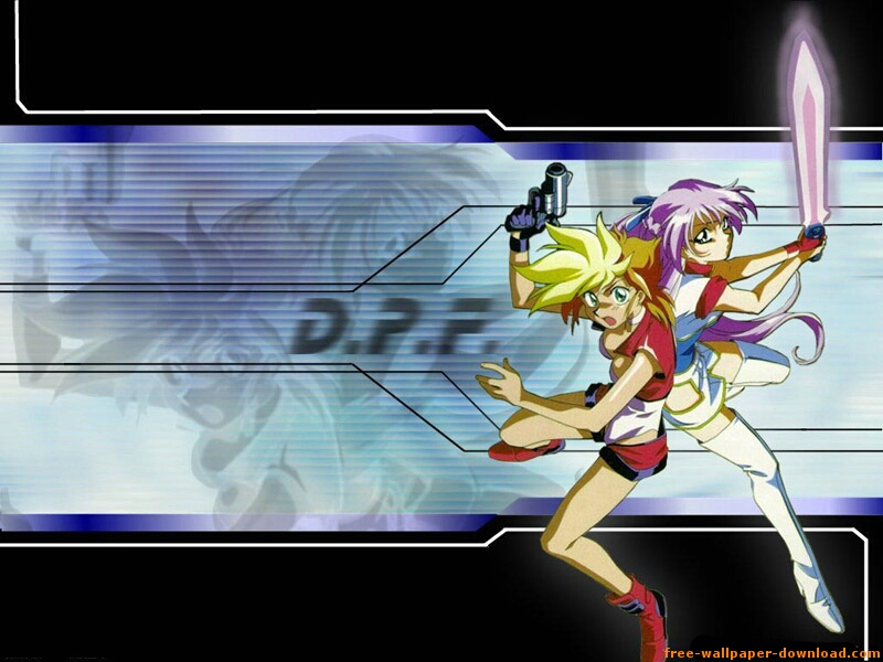 Dirty Pair Flash Anime Wallpaper # 8