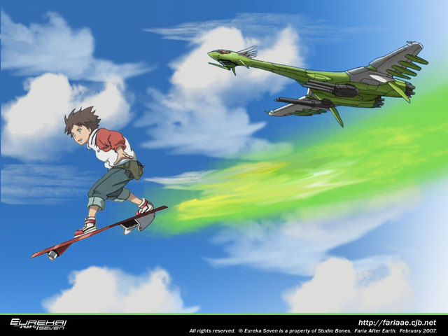 Eureka Seven Anime Wallpaper #3