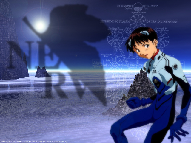 Neon Genesis Evangelion Anime Wallpaper #39