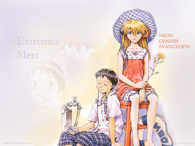 Neon Genesis Evangelion Anime Wallpaper #95