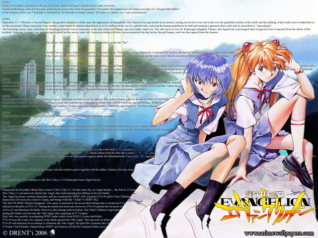 Neon Genesis Evangelion Anime Wallpaper #9