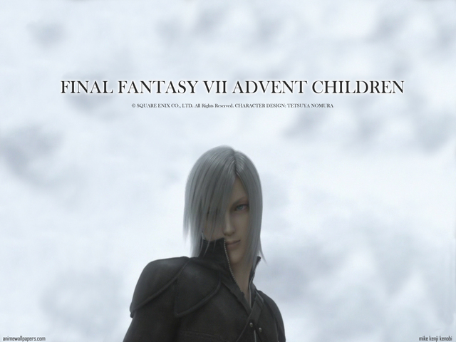 Final Fantasy VII: Advent Children Anime Wallpaper #25