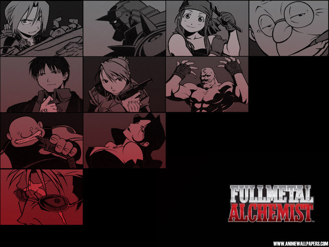 Fullmetal Alchemist Anime Wallpaper #5