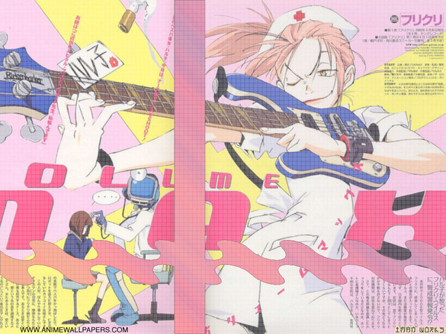 FLCL Anime Wallpaper #11