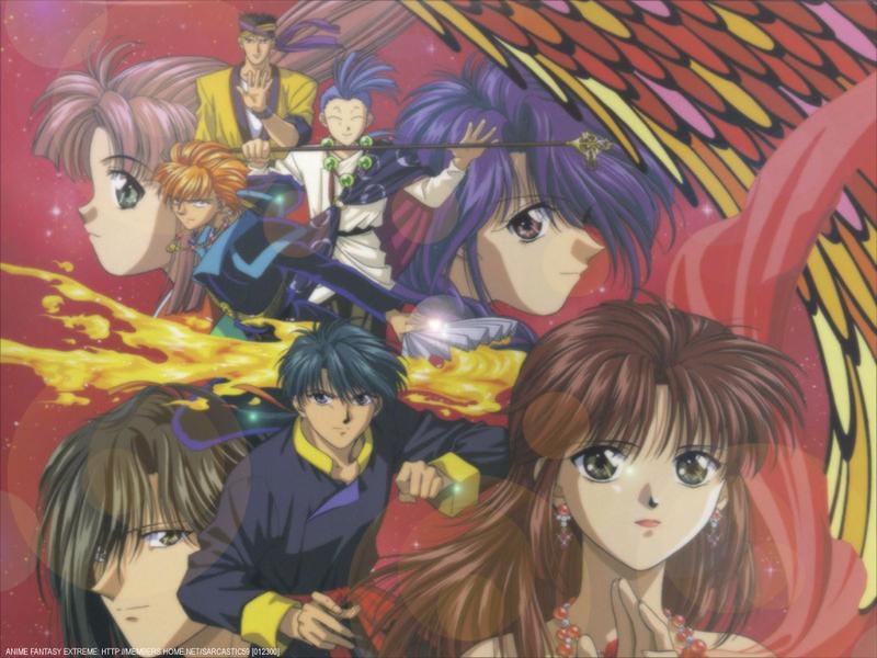 Fushigi Yuugi Anime Wallpaper # 11