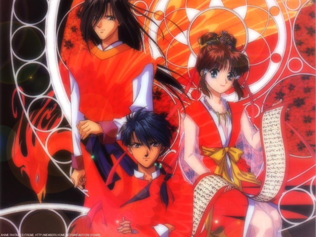 Fushigi Yuugi Anime Wallpaper # 12