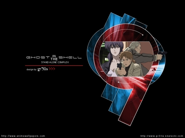 Ghost in the Shell Anime Wallpaper #13