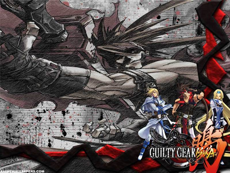 Guilty Gear XI Anime Wallpaper # 1