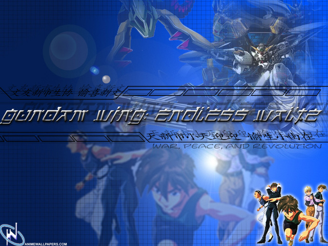 Gundam Wing Anime Wallpaper #11