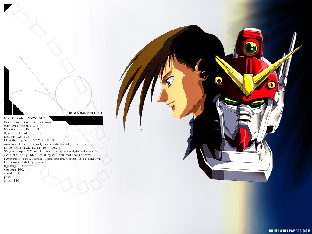 Gundam Wing Anime Wallpaper # 7