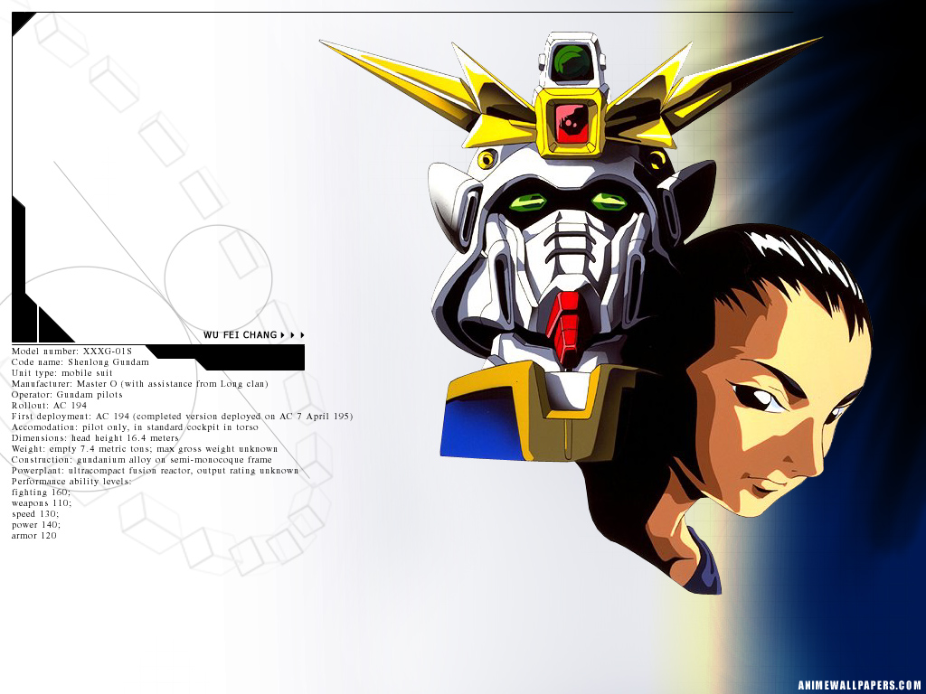 Gundam Wing Anime Wallpaper # 9