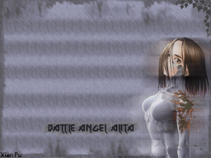 Battle Angel Alita Anime Wallpaper # 4