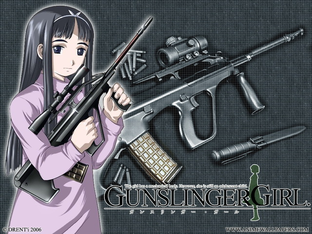Gunslinger Girl Anime Wallpaper #1