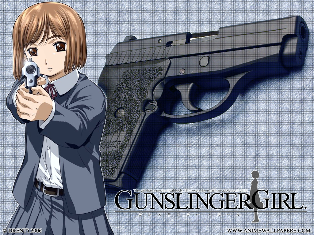 Gunslinger Girl Anime Wallpaper # 2