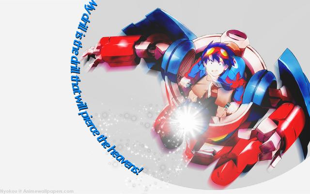 Tengen Toppa Gurren Lagann Anime Wallpaper #2
