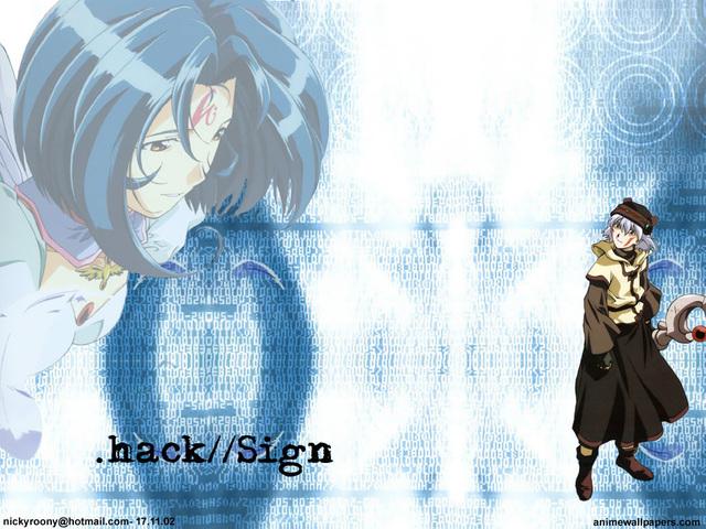 .Hack Anime Wallpaper #10