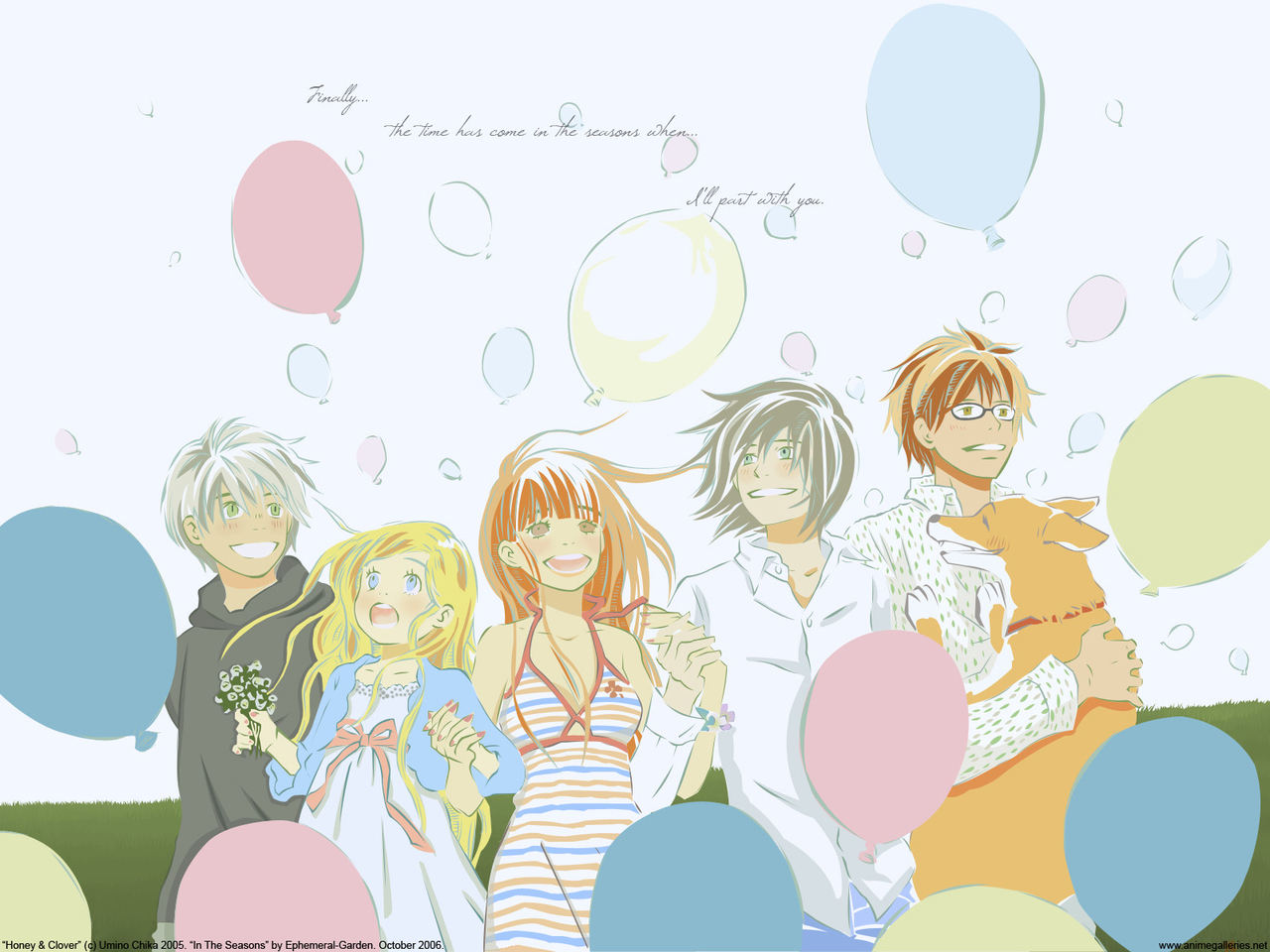 Honey and Clover Anime Wallpaper # 4