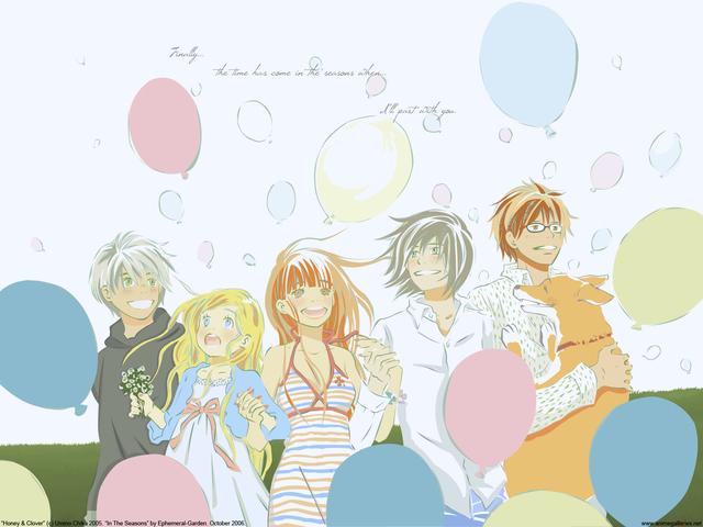 Honey and Clover Anime Wallpaper #4