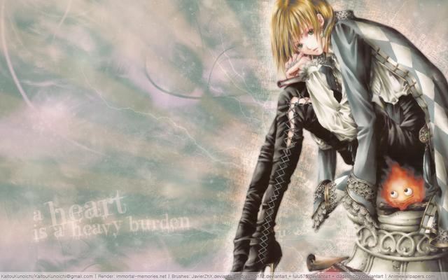 Howls Moving Castle Anime Wallpaper 2
