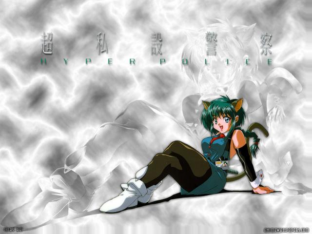 Hyper Police Anime Wallpaper #8