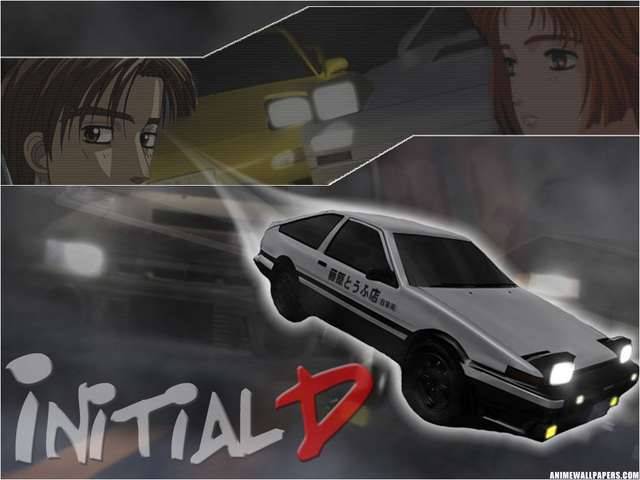 Initial D Anime Wallpaper #2
