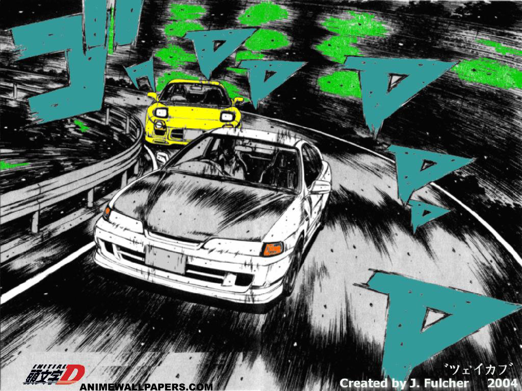 Initial D Anime Wallpaper # 4