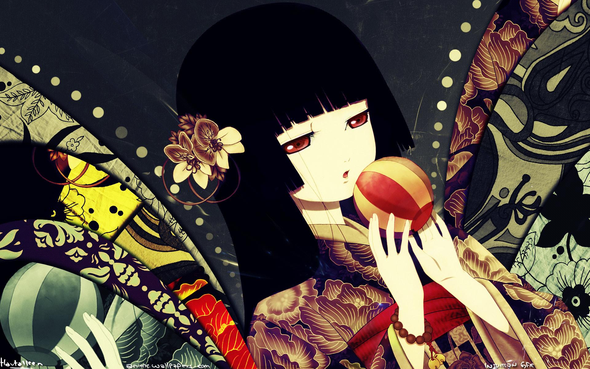 Jigoku Shoujo Anime Wallpaper # 3