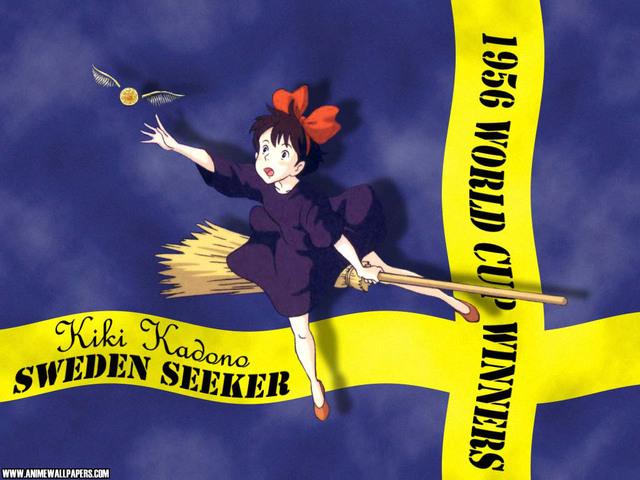 Kiki's Delivery Service Anime Wallpaper #1