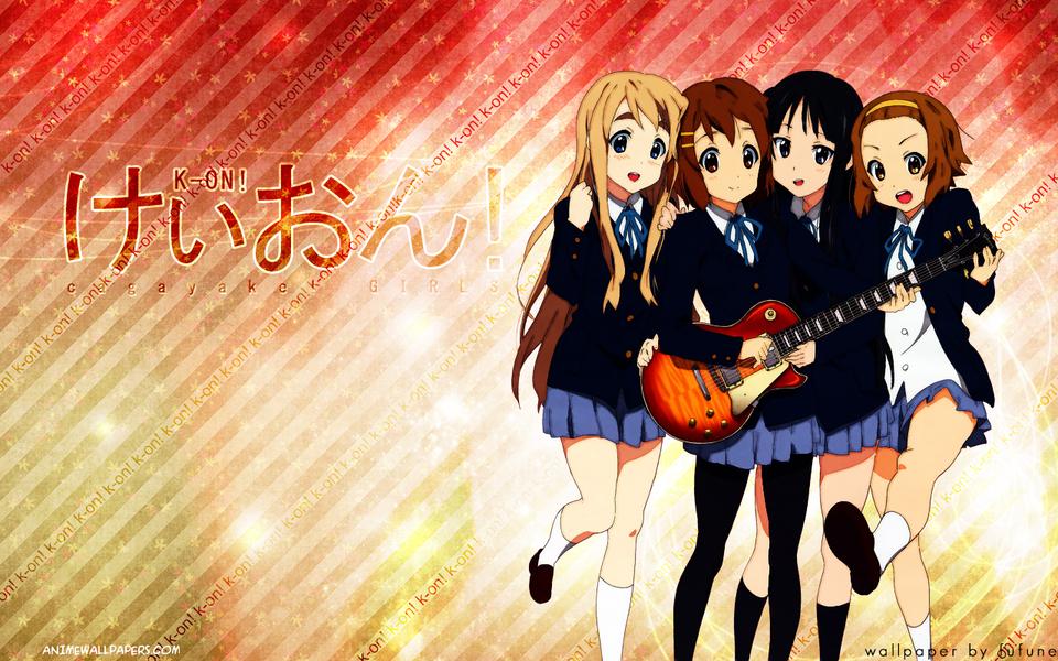 K-ON! Anime Wallpaper # 2