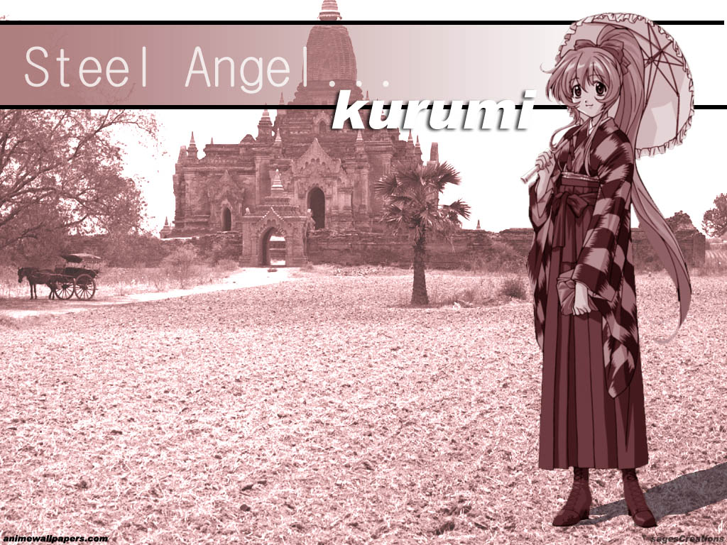 Steel Angel Kurumi Anime Wallpaper # 2