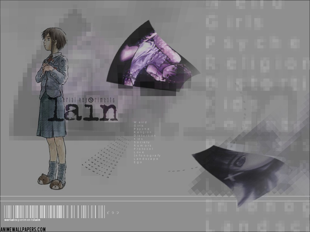 Serial Experiments Lain Anime Wallpaper # 27