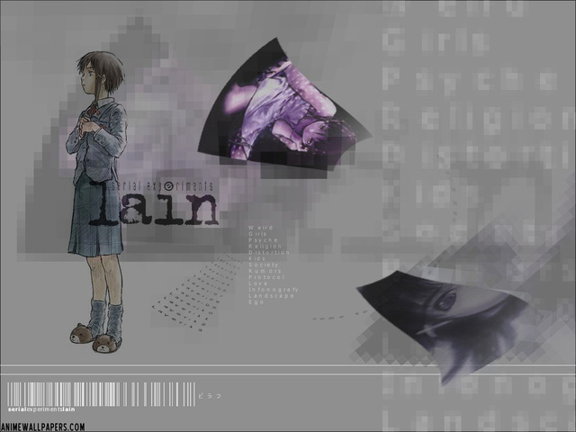 Serial Experiments Lain Anime Wallpaper #27