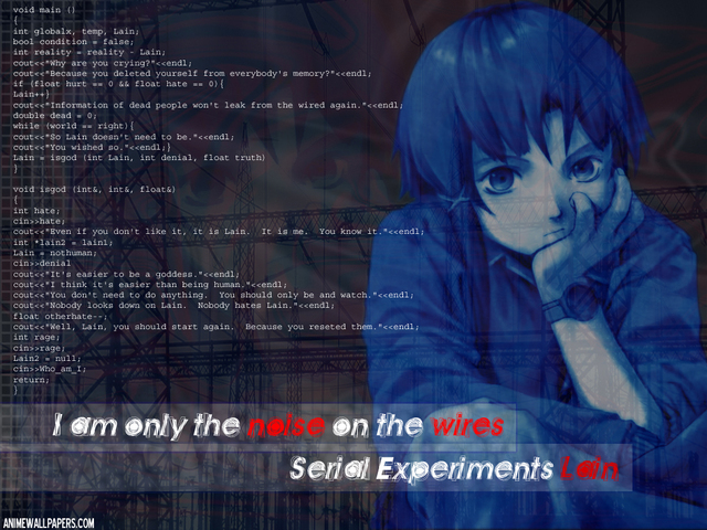 Serial Experiments Lain Anime Wallpaper #43