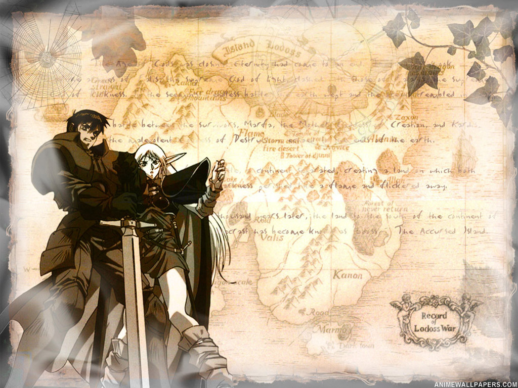 Record of Lodoss War Anime Wallpaper # 2