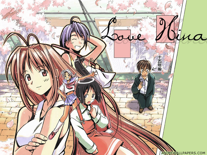 Love Hina Anime Wallpaper # 6