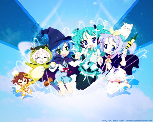 Lucky Star Anime Wallpaper #5