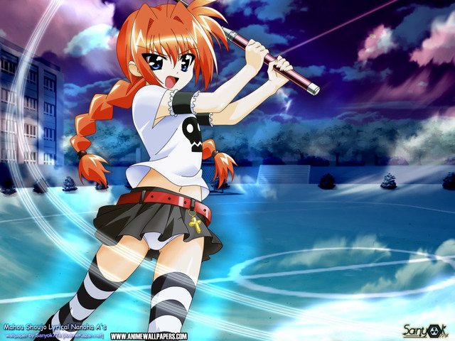 Mahou Shoujo Lyrical Nanoha Anime Wallpaper #2
