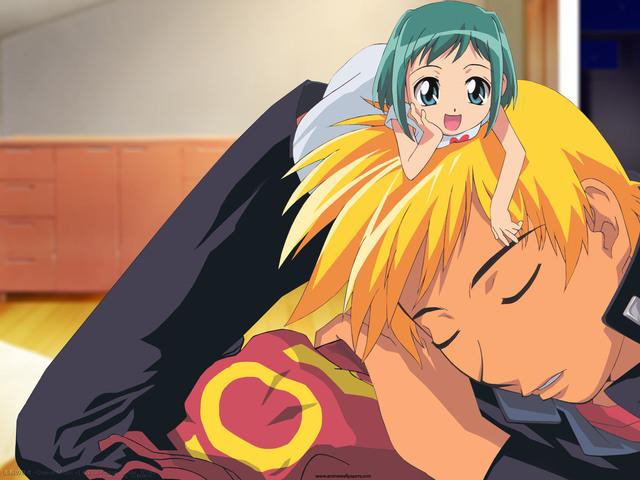 Midori no Hibi Anime Wallpaper #1