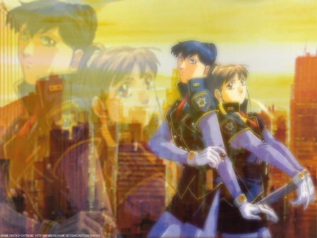 Silent Mobius Anime Wallpaper #12