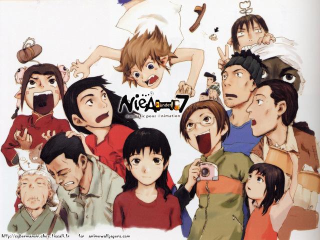 NieA Under 7 Anime Wallpaper #2