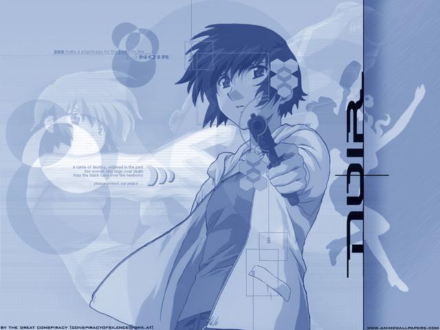 Noir Anime Wallpaper #23