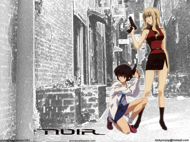 Noir Anime Wallpaper #4
