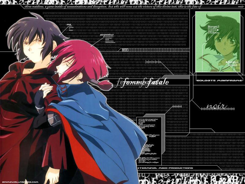 Noir Anime Wallpaper # 5