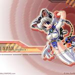 Nyan Nyan Strikers Anime Wallpaper # 1