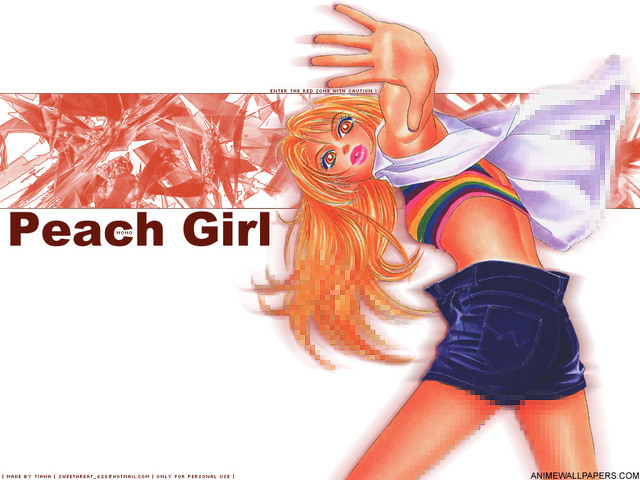 Peach Girl Anime Wallpaper #1