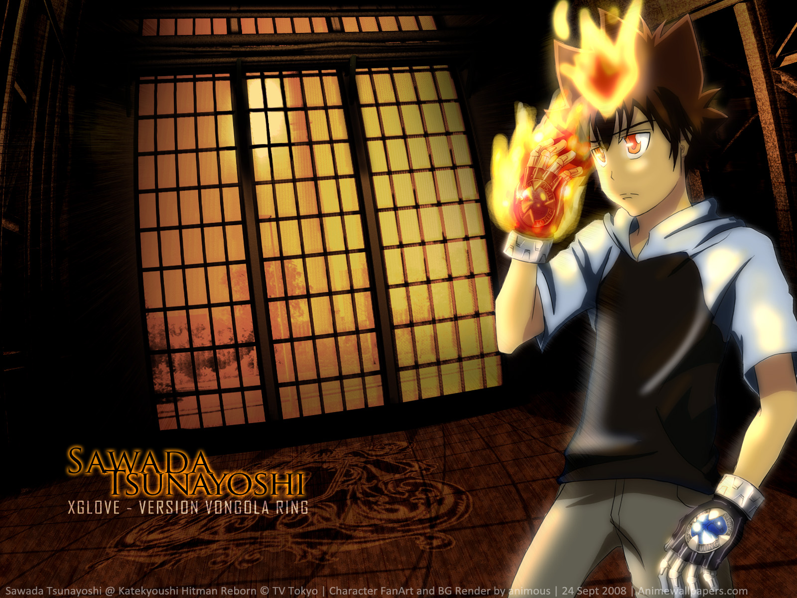 Katekyo Hitman Reborn! Anime Wallpaper # 2