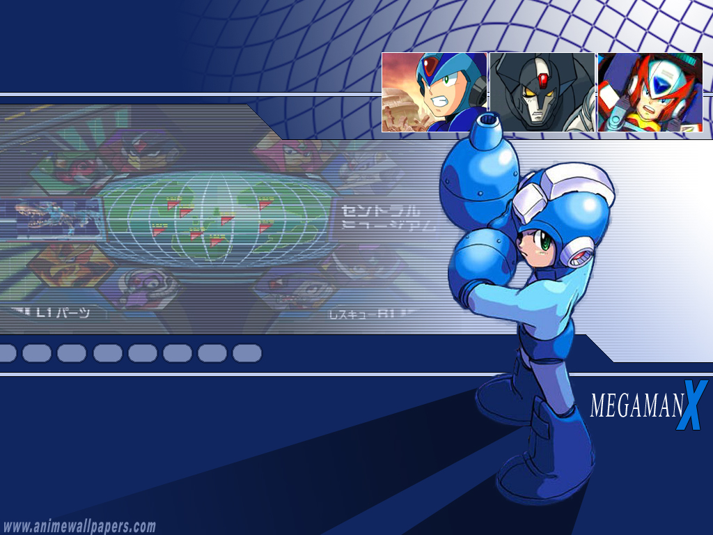 Rockman Anime Wallpaper # 2