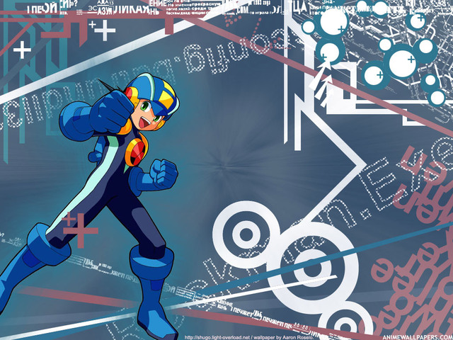 Rockman Anime Wallpaper #8