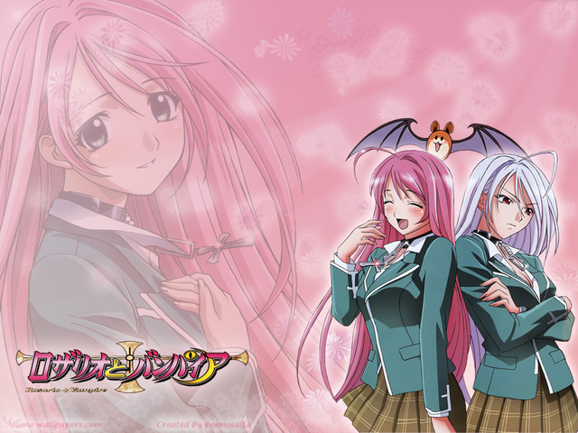 Rosario + Vampire Anime Wallpaper #1