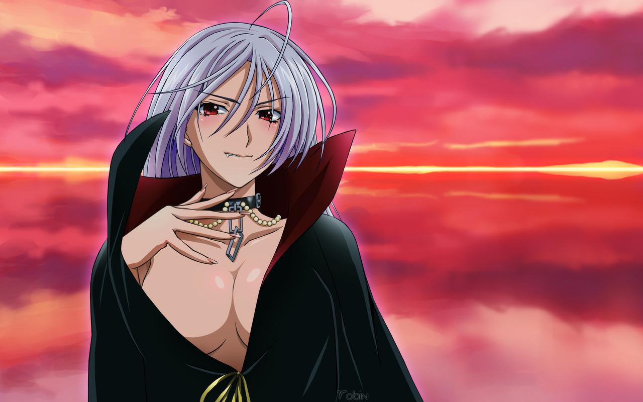 Rosario + Vampire Anime Wallpaper # 3